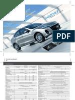 Ficha Tecnica Mazda3