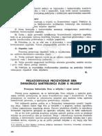 5 Prilago Ivanje Proizvodnje Sira Danasnjoj Bakterijskoj Flori u Mlijeku