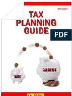 Tax Planning 2012