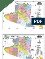 Peta Administrasi Gunung Kidul