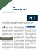 Sortino - a Better Measure of Risk?  ROLLINGER Feb 2013