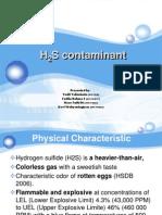 H2S Contaminant