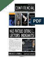 L'H Confidencial, 92. Males pràctiques editorials... lectors indignats! 2