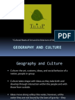 Geography and Culture