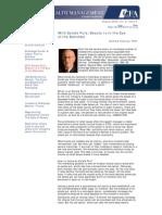 Estate Put CFA Newsletter