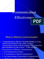 Communication Effectiveness