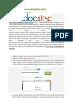 Cara Gratis Download Dari DocStoc