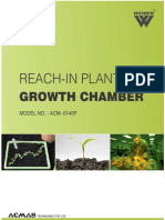 Reach in Plant Growth Chambers