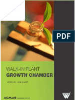 Walk in Plant Growth Chambers