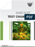 Sand Dust Test Chamber