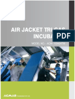 Air Jacket Tri Gas Incubator