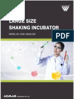 Large Size Shaking Incubator