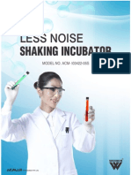 Less Noise Shaking Incubator