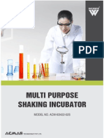 Multi Purpose Shaking Incubator