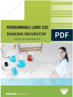 Programmable Large Size Shaking Incubator