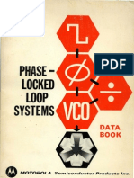 Motorola Phase-Locked Loop Systems Data Book 2ed Aug73
