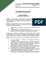 Ley de Deuda Publica Del Estado de Campeche y Sus Municipios