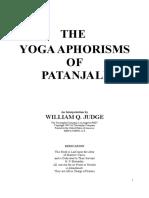 Judge, WQ - The Yoga Aphorisms of Patanjali