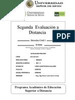 2a. evaluación a distancia Dº Civil I OM