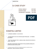 KOMATSU CASE STUDY.ppt