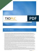 TXO Presentation