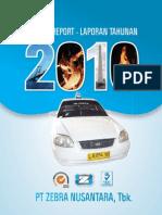 ZBRA Annual Report 2010