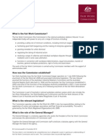 Role of the Fair Work Commission