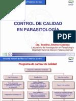 Control de Calidad en Parasitologia