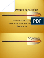 The Profession of Nursing