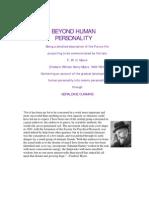 Beyond Human Personality