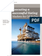 Pwc Executing a Successful Listing Oil and Gas