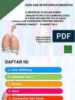 LAPORAN DIAGNOSIS DAN INTERVENSI KOMUNITAS.pptx