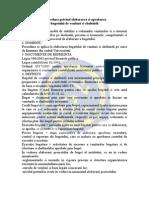 Procedura BVC 2013