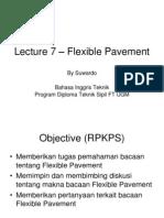 Lecture 7 - Flexible Pavement