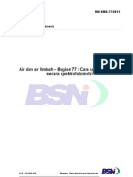 SNI 6989.77-2011 Cara Uji Sianida (CN-) Secara Spektrofotometri