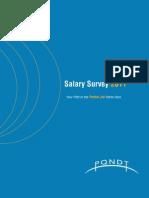 PQNDT 2011 Salary Survey