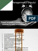 Timpul si Managementul timpului