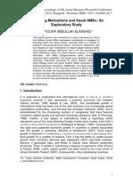 Exploratory Research SME