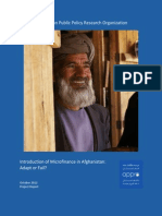 Micro-Finance in Afghanistan