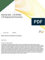 11 RA4120BEN30GLA0 LTE Deployment Scenarios v01