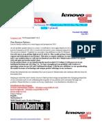 AIO ThinkCentre Edge 72z - 92z