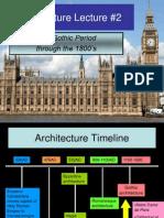 Architecture Lecture 2