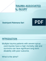 Multiple Trauma Associated With Spinal Injury