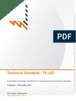 Overhead Line Design Standard Transmission Distribution System