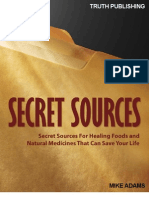 Secret Sources Natural Medicine