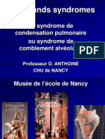 syndrome de condensation pulmonaire