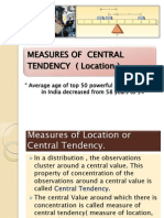 Central Tendency (Stats)
