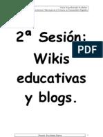 2sesión-Wikis y blogs