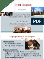 New DI Program 2011