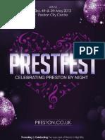 Prestfest Brochure